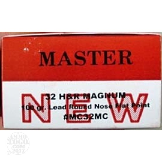 500rds - 32 H&R Magnum Master Cartridge 100gr. LFP Cowboy Action