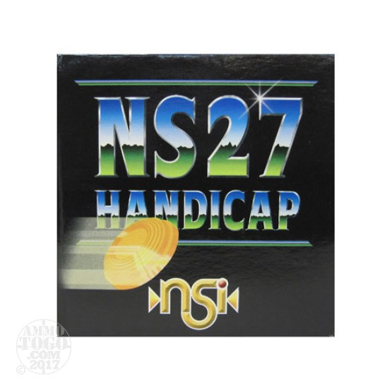 "25rds - 12 Gauge NobelSport NS 27 Handicap 2 3/4"" 1 1/8oz #7 1/2 Shot Ammo"