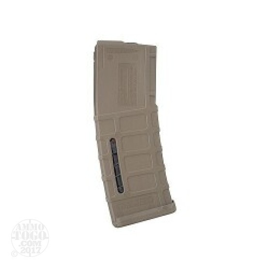 1 - Magpul PMAG AR15/M16 Flat Dark Earth 30rd. Magazine with Mag Level Window