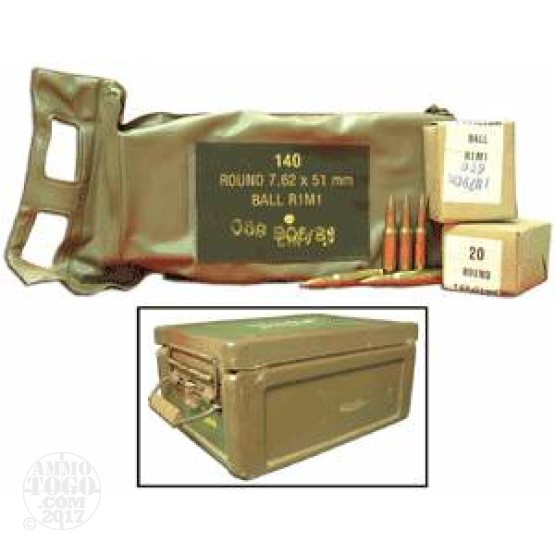1260rds - .308 South African in Battle Packs