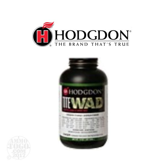 8 lbs - Titewad - Hodgdon Powder