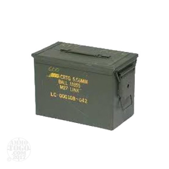1 - USGI SAW Ammo Can - Used