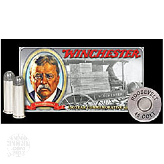 50rds - 45 Long Colt Winchester Teddy Roosevelt Limited Edition