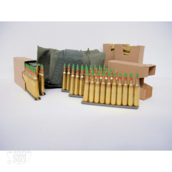 120rds - .223 Winchester M855 Ammo on Stripper Clips in Bandos