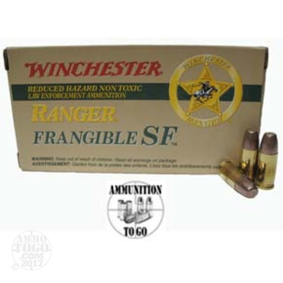 50rds - 357 SIG Winchester Ranger 100gr. Frangible Ammo