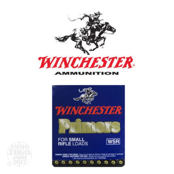 1000pcs - Winchester Small Rifle Primers