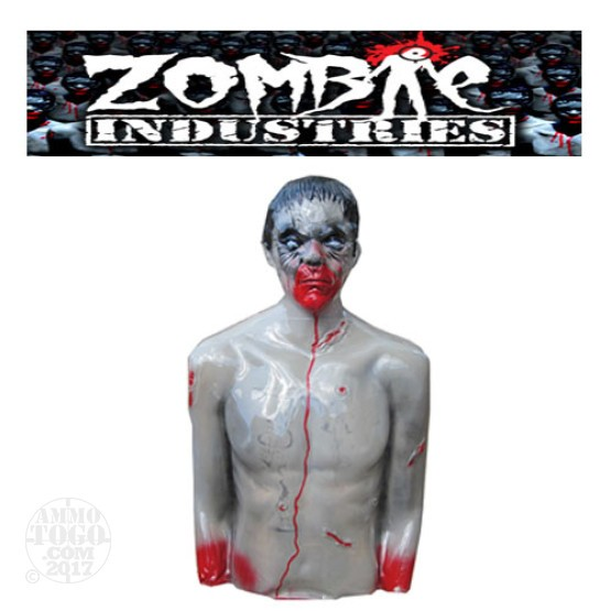 1 - Zombie Industries Tactical Bleeding Zombie Target - Chris (Gray Color)