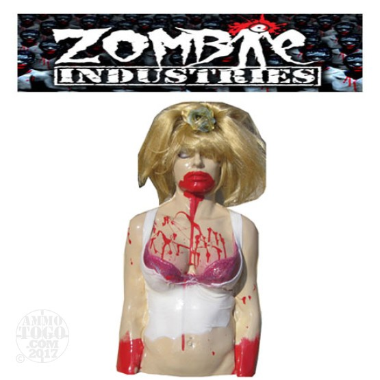 1 - Zombie Industries Tactical Bleeding Zombie Target - Ex Girlfriend (Tan Color)