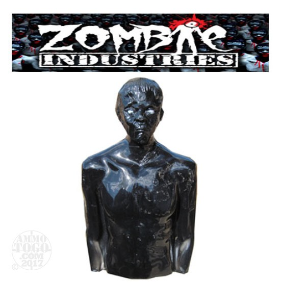 1 - Zombie Industries Tactical Bleeding Zombie Target - Ivan (Black Color)