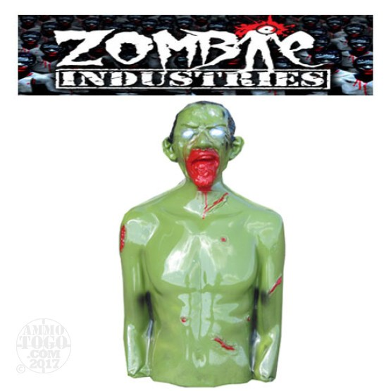 1 - Zombie Industries Tactical Bleeding Zombie Target - Rocky (Green Color)