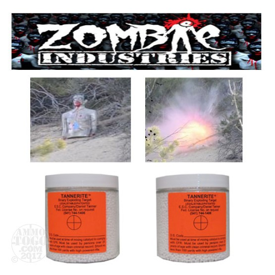 1 - Zombie Industries Binary Exploding Rifle Targets (two included)