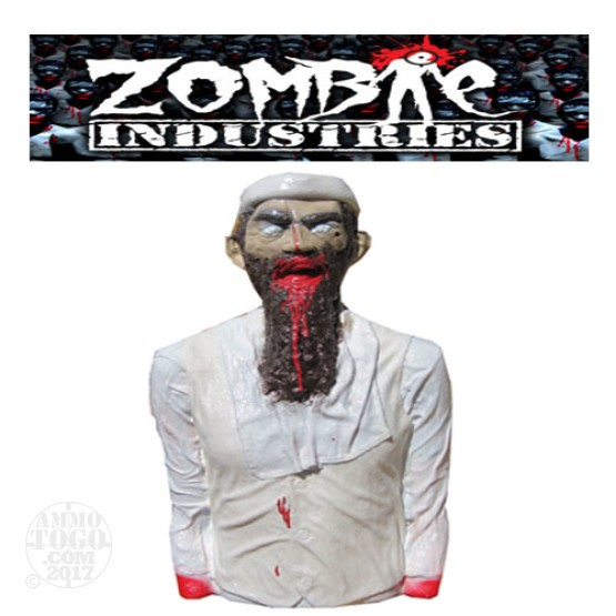 1 - Zombie Industries Tactical Bleeding Zombie Target - Terrorist (Off White Color)