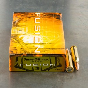 20rds - 7mm-08 Rem. Federal Fusion 120gr. SP Ammo