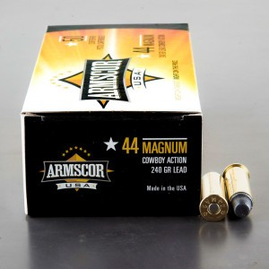 400rds - 44 Magnum Armscor USA Cowboy Action 240gr. SWC Ammo
