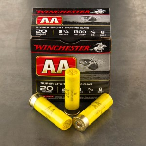 "25rds - 12 Gauge Winchester AA Sporting Clay 2-3/4"" 1 oz. #7.5 Ammo"