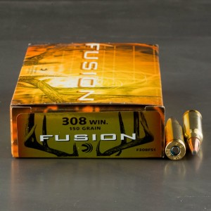 20rds - 308 Federal Fusion 150gr. SP Ammo