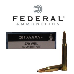 20rds - .270 Federal Power-Shok 130gr. SP Ammo