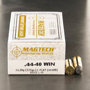 50rds - 44-40 Magtech 225gr. Lead Flat Nose Cowboy Ammo