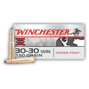 200rds - 30-30 Winchester Super-X 150gr. PP Ammo