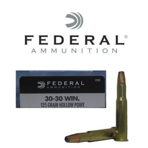 20rds - 30-30 Federal Power-Shok 125gr. HP Ammo