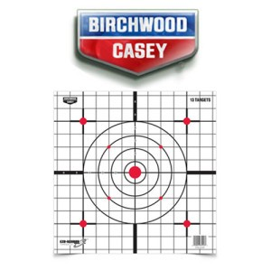 "1 - Birchwood Casey Eze-Scorer 12"" Sight-in Paper Target 13 Pack"