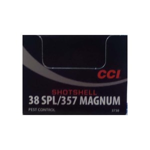 10rds – 38 Special CCI 100gr. #9 Shot Ammo