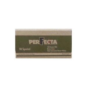 38 Special - 158 gr FMJ - Fiocchi Perfecta - 1000 Rounds