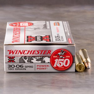 200rds – 30-06 Winchester Super-X 180gr. PP Ammo