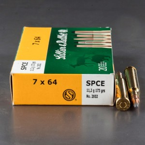 20rds - 7x64 Sellier and Bellot 173gr. SPCE Ammo