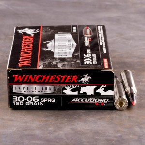 20rds - 30-06 Winchester Supreme 180gr AccuBond Ammo