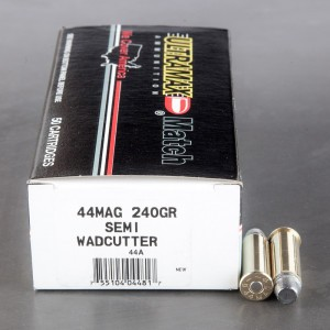 50rds - 44 Mag Ultramax 240gr. LSWC Ammo