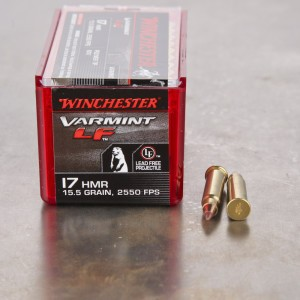 50rds - 17 HMR Winchester Supreme Lead Free 15.5gr. Polymer Tip NTX Ammo