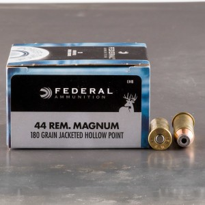 20rds – 44 Mag Federal Power-Shok 180gr. JHP Ammo