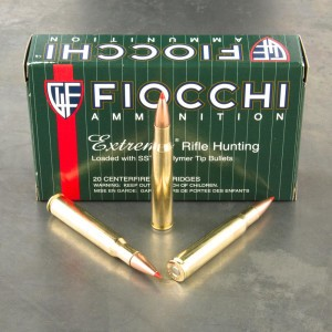 200rds – 30-06 Fiocchi Extrema 180gr. SST Ammo
