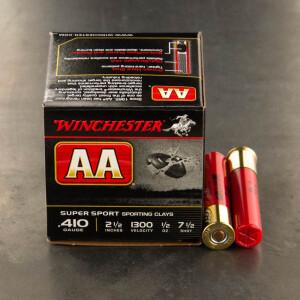 "25rds – 410 Bore Winchester AA Super Sport 2-1/2"" 1/2 oz. #7 Shot Ammo"