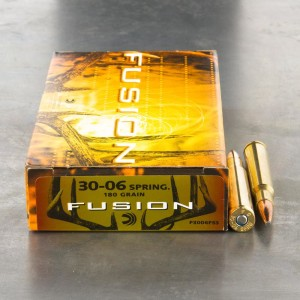 20rds - 30-06 Federal Fusion 180gr. SP Ammo