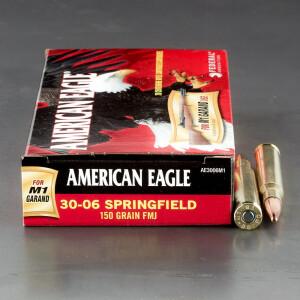 20rds - 30-06 Federal AE 150gr. M1 Garand FMJ Ammo