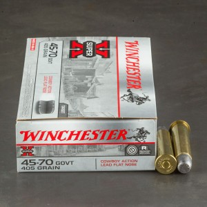 20rds - 45-70 Govt. Winchester Cowboy Action Loads 405gr. LFN Ammo