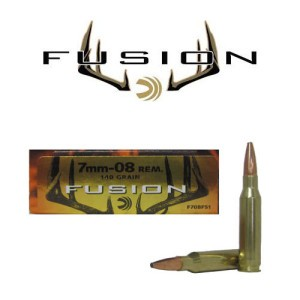 20rds - 7mm-08 Rem. Federal Fusion 140gr. SP Ammo
