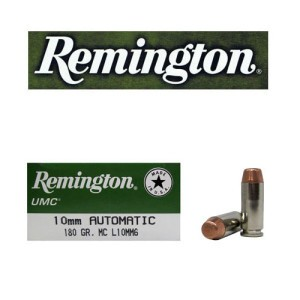 50rds - 10mm Remington UMC 180gr. FMJ Ammo