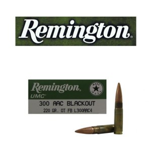 20rds - 300 AAC BLACKOUT Remington 220gr. OTFB Ammo