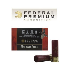 "25rds - 12 Gauge Federal Wing-Shok 3"" 1 5/8oz. Max Dram #6 Shot Ammo"
