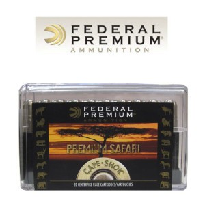 20rds - 458 Win. Mag Federal Cape-Shok Premium Safari 500gr. Trophy Bonded Bear Claw Ammo