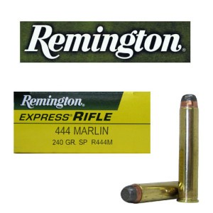 20rds - 444 Marlin Remington 240gr. Soft Point Ammo