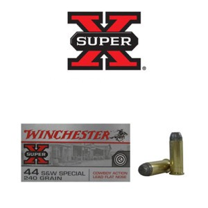 500rds - 44 Special Winchester Cowboy 240gr. Lead Flat Nose Ammo