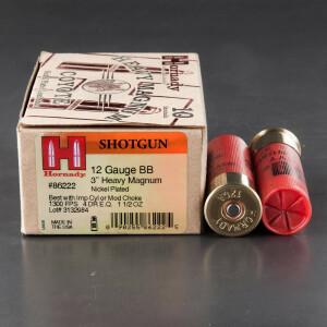 """10rds - 12 Ga. Hornady Heavy Magnum Coyote 3"""" 1 1/2oz. BB Shot Ammo"""
