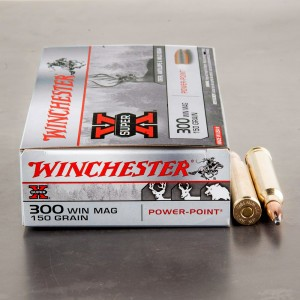 20rds - 300 Win. Mag. Winchester 150gr. Super-X Power Point Ammo