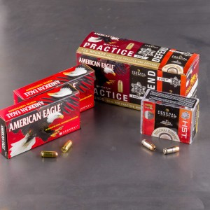 380 AUTO - 95GR FMJ & 99GR HST Combo Pack - Federal - 120 Rounds