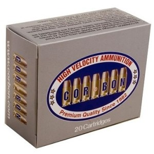 20rds - 38 Special Corbon 125gr. +P HP Ammo