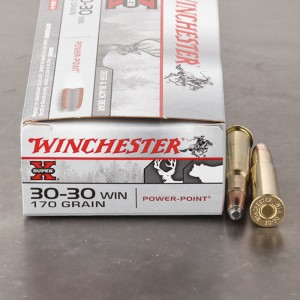 200ds - 30-30 Winchester Super-X 170gr. Power Point Soft Point Ammo